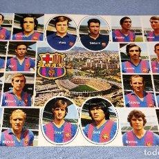 Coleccionismo deportivo: POSTAL DEL FUTBOL CLUB BARCELONA AÑOS 70 PERFECTA GRAN TAMAÑO ORIGINAL EPOCA CRUYFF. Lote 242266490
