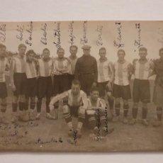 Coleccionismo deportivo: EQUIPO DE FUTBOL RCD ESPANYOL / RCD ESPAÑOL - ZAMORA ESCOLÀ VENTOLRÀ - SANTANDER 1928 - LCC - P46751. Lote 243485415