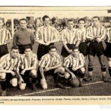 Coleccionismo deportivo: ATLETIC CLUB - EL GRAN BILBAO DE LOS AÑOS 40 - FOTO POSTAL - 161X104X- INÉDITA EN TODOCOLECCIÓN. Lote 243486170