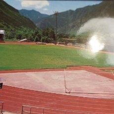 Coleccionismo deportivo: FOTO POSTAL DEL ESTADIO COMUNAL DE FUTBOL F.C. ANDORRA. Lote 244553935