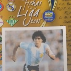 Coleccionismo deportivo: POSTAL DIEGO MARADONA PUMA. Lote 245274380
