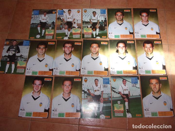 Coleccionismo deportivo: SUPER DEPORTE VALENCIA CLUB DE FUTBOL - LOTE VARIADO. - Foto 3 - 245927020