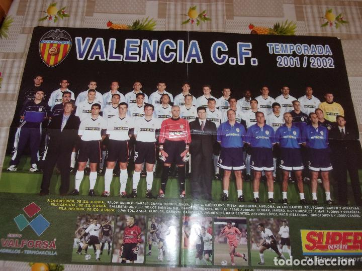 SUPER DEPORTE VALENCIA CLUB DE FUTBOL - LOTE VARIADO. (Coleccionismo Deportivo - Postales de Deportes - Fútbol)