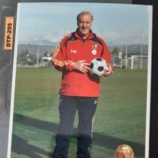 Colecionismo desportivo: SELECCION ESPAÑOLA MUNDIAL 2.010- DEL BOSQUE. Lote 247057265