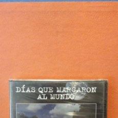 Coleccionismo deportivo: DIAS QUE AMRAGARON AL MUNDO. LA CORONACION DE ISABEL II Y LA MUERTE DE DIANA. DVD.. Lote 247281365