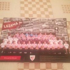 Coleccionismo deportivo: TARJETÓN FOTOGRAFÍA OFICIAL ATHLETIC CLUB BILBAO 2010 / 2011.LLORENTE, JAVI MARTINEZ,CAPARRÓS.. Lote 248090400