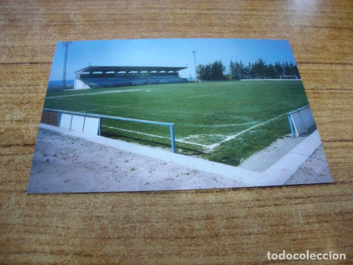 POSTAL CAMPO DE FUTBOL EL TERRALL BORGES BLANQUES C F LES BORGES BLANQUES LLEIDA SIN CIRCULAR (Coleccionismo Deportivo - Postales de Deportes - Fútbol)