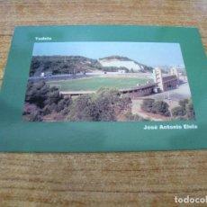 Coleccionismo deportivo: POSTAL CAMPO DE FUTBOL JOSE ANTONIO ELOLA C D TUDELANO TUDELA NAVARRA SIN CIRCULAR. Lote 251300175