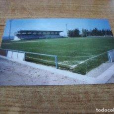 Coleccionismo deportivo: POSTAL CAMPO DE FUTBOL EL TERRALL BORGES BLANQUES C F LES BORGES BLANQUES LLEIDA SIN CIRCULAR. Lote 251300400
