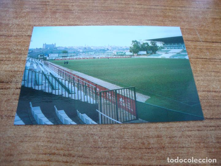 POSTAL CAMPO DE FUTBOL SALTO DEL CABALLO C D TOLEDO TOLEDO SIN CIRCULAR (Coleccionismo Deportivo - Postales de Deportes - Fútbol)