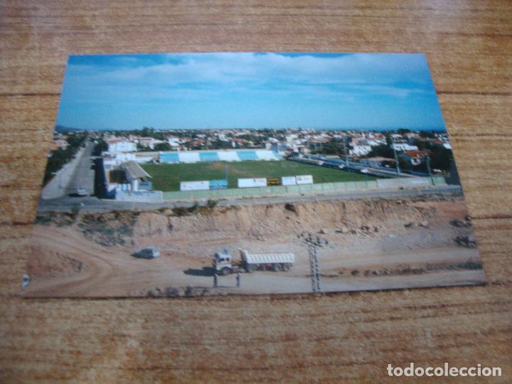 POSTAL CAMPO DE FUTBOL CERVOL VINAROZ C F VINAROZ CASTELLON SIN CIRCULAR (Coleccionismo Deportivo - Postales de Deportes - Fútbol)
