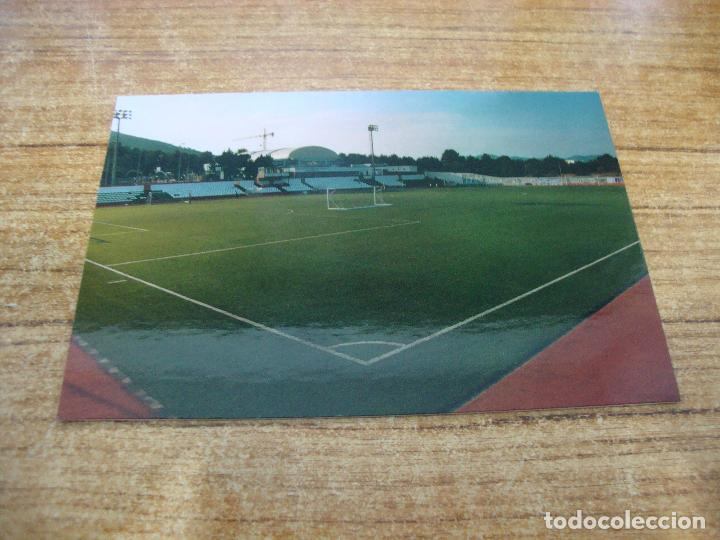 POSTAL CAMPO DE FUTBOL MUNICIPAL PEÑA DEPORTIVA SANTA EULALIA SANTA EULALIA DES RIU EIVISSA SIN CIR. (Coleccionismo Deportivo - Postales de Deportes - Fútbol)