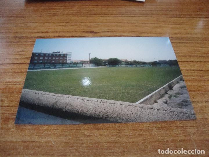 POSTAL CAMPO DE FUTBOL LA ERAGUDINA ATLETICO ASTORGA ASTORGA LEON SIN CIRCULAR (Coleccionismo Deportivo - Postales de Deportes - Fútbol)