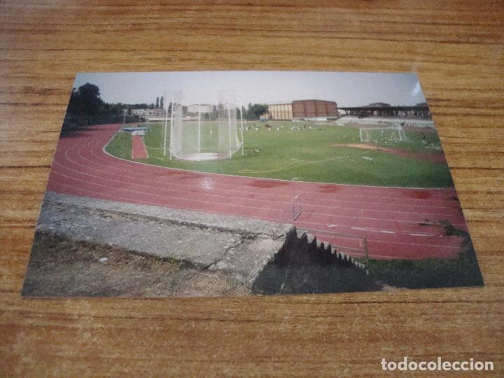 POSTAL CAMPO DE FUTBOL ESTADDIO MUNICIPAL SEGOVIA SIN CIRCULAR (Coleccionismo Deportivo - Postales de Deportes - Fútbol)