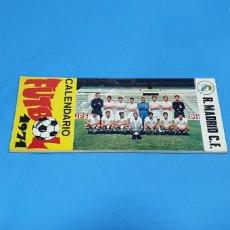 Coleccionismo deportivo: CALENDARIO DE FUTBOL 1971 - REAL MADRID C.F.. Lote 252291800