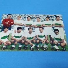 Colecionismo desportivo: POSTAL - ELCHE C. F. - TEMPORADA 1968-69. Lote 252297125