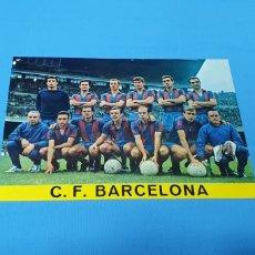 Coleccionismo deportivo: POSTAL - C. F. BARCELONA - TEMPORADA 1968-69. Lote 252297765