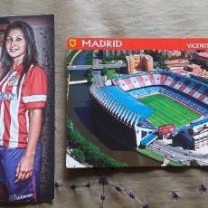 Coleccionismo deportivo: FUTBOL-V79-AT.MADRID-FEMINAS-BALLE-2013-2014-ESTADIO VICENTE CALDERON. Lote 253634125