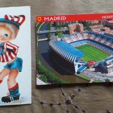 Coleccionismo deportivo: FUTBOL-V79-AT.MADRID-ESTADIO VICENTE CALDERON. Lote 253634440