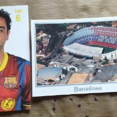 Coleccionismo deportivo: FUTBOL-V79-F.C.BARCELONA-XAVI-CAMP NOU. Lote 253635460