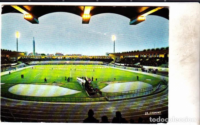 POSTAL ESTADIO BURDEOS BOUDEAUX CAMPO DE FUTBOL (Coleccionismo Deportivo - Postales de Deportes - Fútbol)