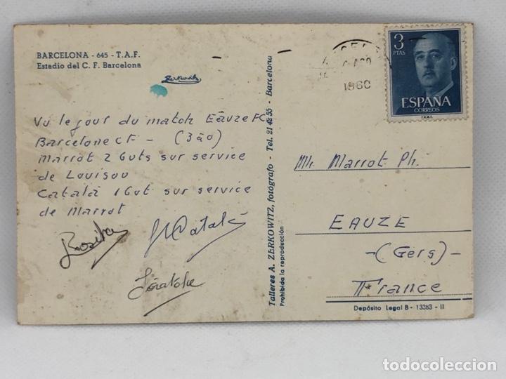 Coleccionismo deportivo: POSTAL ESTADIO C.F. BARCELONA CAMPO DE FUTBOL - Foto 2 - 254191085
