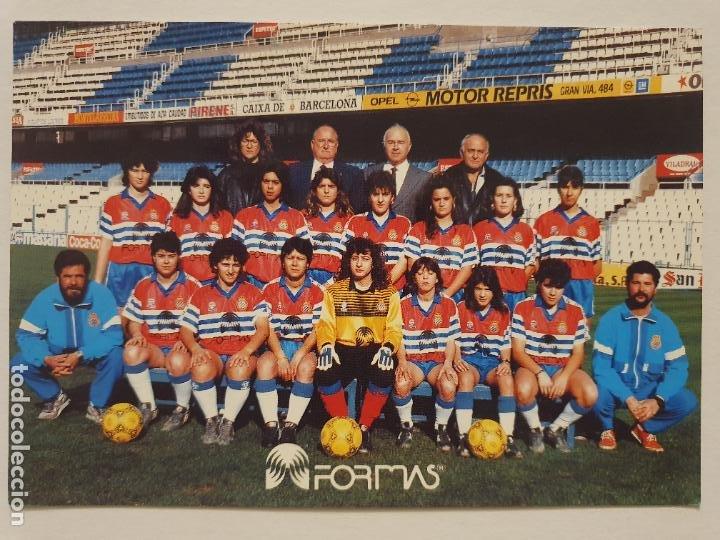 EQUIPO FEMENINO DEL REAL CLUB DEPORTIVO ESPAÑOL - P49826 (Coleccionismo Deportivo - Postales de Deportes - Fútbol)