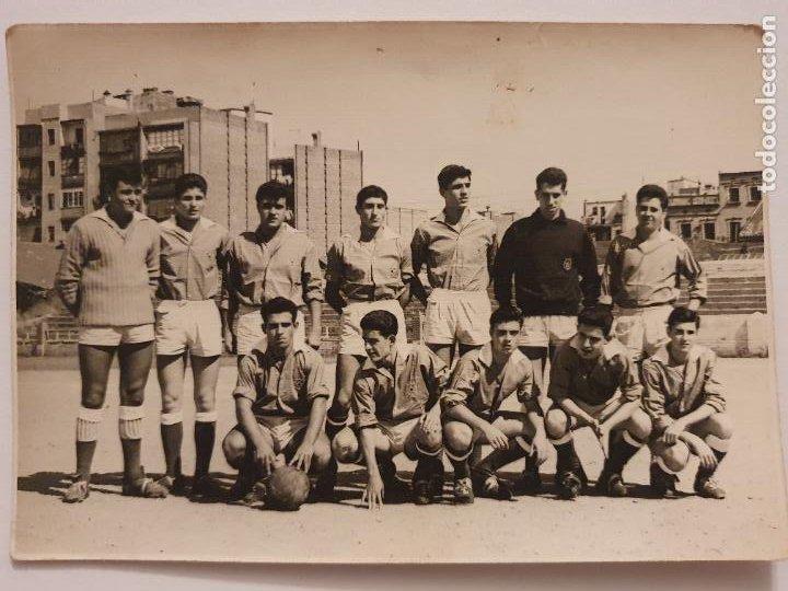 EQUIPO DEL CLUB DE FUTBOL DAMM - CERVEZAS DAMM - 15,6 X 10,9 CM. - P49826 (Coleccionismo Deportivo - Postales de Deportes - Fútbol)