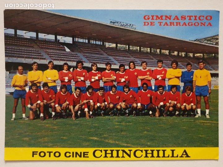 EQUIPO DEL GIMNÀSTIC DE TARRAGONA 1975 - P49827 (Coleccionismo Deportivo - Postales de Deportes - Fútbol)