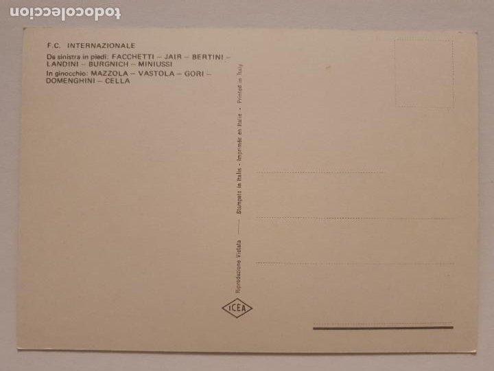 Coleccionismo deportivo: EQUIPO DEL INTER DE MILÁN - F.C. INTERNAZIONALE - P49828 - Foto 2 - 254277435