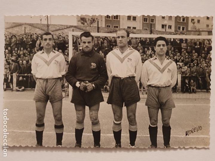 EQUIPO DE FUTBOL DEL CLUB ESPORTIU EUROPA - DEFENSA - 13,8 X 8,8 CM - P49832 (Coleccionismo Deportivo - Postales de Deportes - Fútbol)