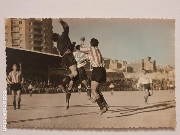PARTIDO C.D. EUROPA Y SANT ANDREU - 13,8 X 8,8 CM - P49835 (Coleccionismo Deportivo - Postales de Deportes - Fútbol)
