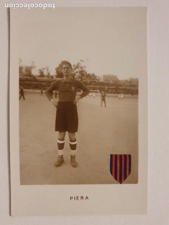 VICENTE / VICENÇ PIERA - FUTBOL CLUB BARCELONA - P49836 (Coleccionismo Deportivo - Postales de Deportes - Fútbol)