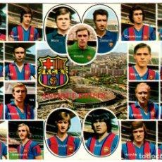 Coleccionismo deportivo: F.C. BARCELONA , PLANTILLA AÑOS 70 Nº B.0210 KOLORHAM / CRUYFF , SOTIL , NEESKENS. Lote 254895030