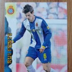 Coleccionismo deportivo: CROMO N° 369 RUI FONTE ESPAÑOL C. F FICHA LIGA MUNDICROMO 2012 2013 12 13. Lote 255306855