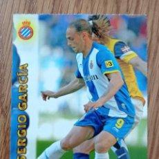 Coleccionismo deportivo: CROMO N° 371 SERGIO GARCIA ESPAÑOL C. F FICHA LIGA MUNDICROMO 2012 2013 12 13. Lote 255306860