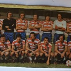Coleccionismo deportivo: POSTER GRANADA C. F. 1973 - 74. Lote 255362150