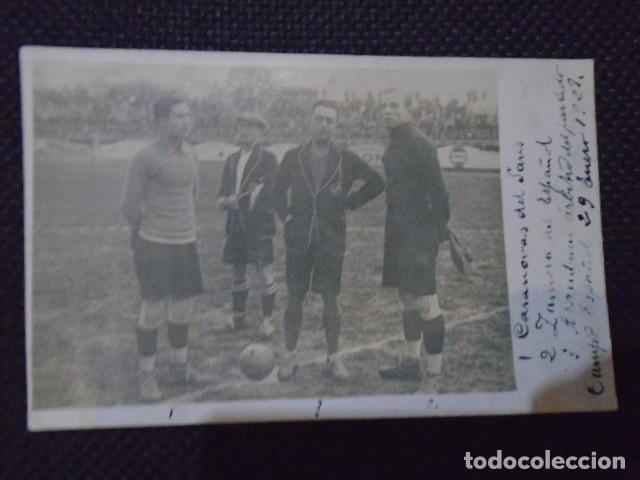 Coleccionismo deportivo: (F-210410)POSTAL FOTOGRAFICA RICARDO ZAMORA R.C.D.ESPAÑOL,1-U.D.SANS,1 - 29-1-1928 - Foto 6 - 256027890