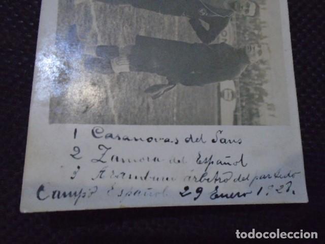 Coleccionismo deportivo: (F-210410)POSTAL FOTOGRAFICA RICARDO ZAMORA R.C.D.ESPAÑOL,1-U.D.SANS,1 - 29-1-1928 - Foto 8 - 256027890