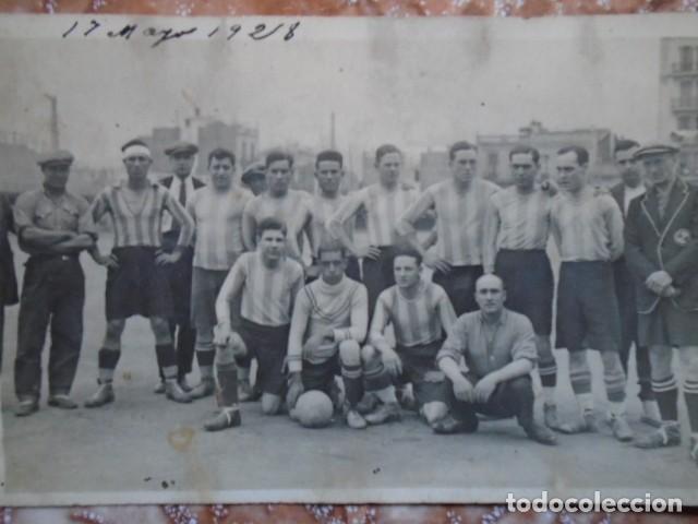 Coleccionismo deportivo: (F-210412)LOTE DE 2 POSTALES FOTOGRAFIAS CAMPO C.E.JUPITER EQUIPO FOOT-BALL AGUAS DE BARCELONA - Foto 8 - 256029560