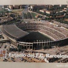 Coleccionismo deportivo: POSTAL EL NOU CAMP ESTADIO DEL BARCELONA CLUB FUTBOL KOLORHAM N.º B 0196 SIN CIRCULAR. Lote 257736185