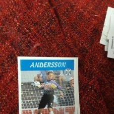 Coleccionismo deportivo: 160 ANDERSONI TENERIFE PANINI 97 98 1997 1998 SIN PEGAR. Lote 258804670