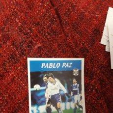 Coleccionismo deportivo: 147 PABLO PAZ TENERIFE PANINI 97 98 1997 1998 SIN PEGAR. Lote 258804685