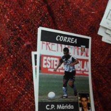 Coleccionismo deportivo: 281 MÉRIDA CORREA PANINI 97 98 1997 1998 SIN PEGAR. Lote 258804795