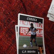 Coleccionismo deportivo: 281 MÉRIDA CORREA PANINI 97 98 1997 1998 SIN PEGAR. Lote 258804810