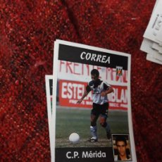 Coleccionismo deportivo: 281 MÉRIDA CORREA PANINI 97 98 1997 1998 SIN PEGAR. Lote 258804830
