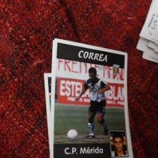 Coleccionismo deportivo: 281 MÉRIDA CORREA PANINI 97 98 1997 1998 SIN PEGAR. Lote 258804840