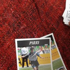 Coleccionismo deportivo: 283 PIRRI MÉRIDA PANINI 97 98 1997 1998 SIN PEGAR. Lote 258804950