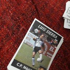 Coleccionismo deportivo: 276 LUIS SIERRA MÉRIDA PANINI 97 98 1997 1998 SIN PEGAR. Lote 258804970