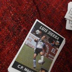 Coleccionismo deportivo: 276 LUIS SIERRA MÉRIDA PANINI 97 98 1997 1998 SIN PEGAR. Lote 258804995